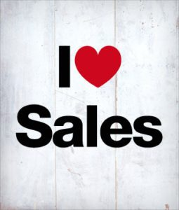 I love sales picture